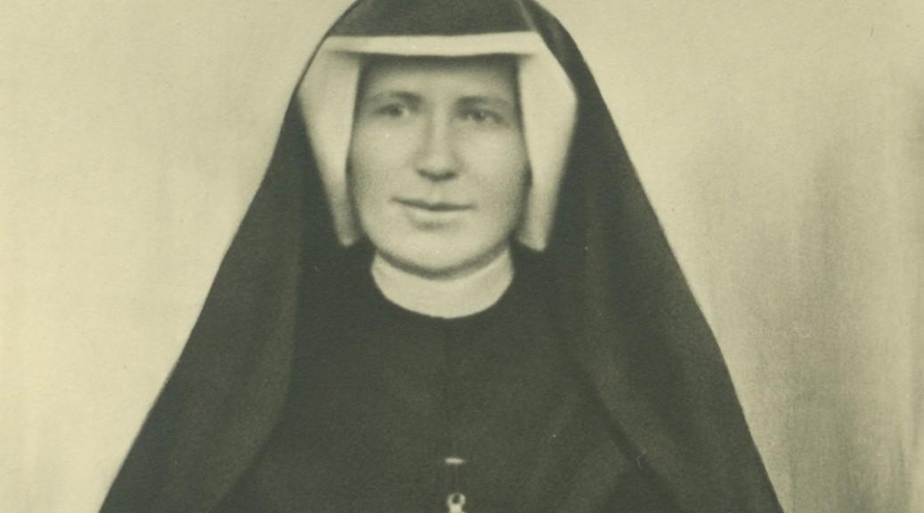 S. Faustyna - zdjęcie podarowane Ks. M. Sopoćce