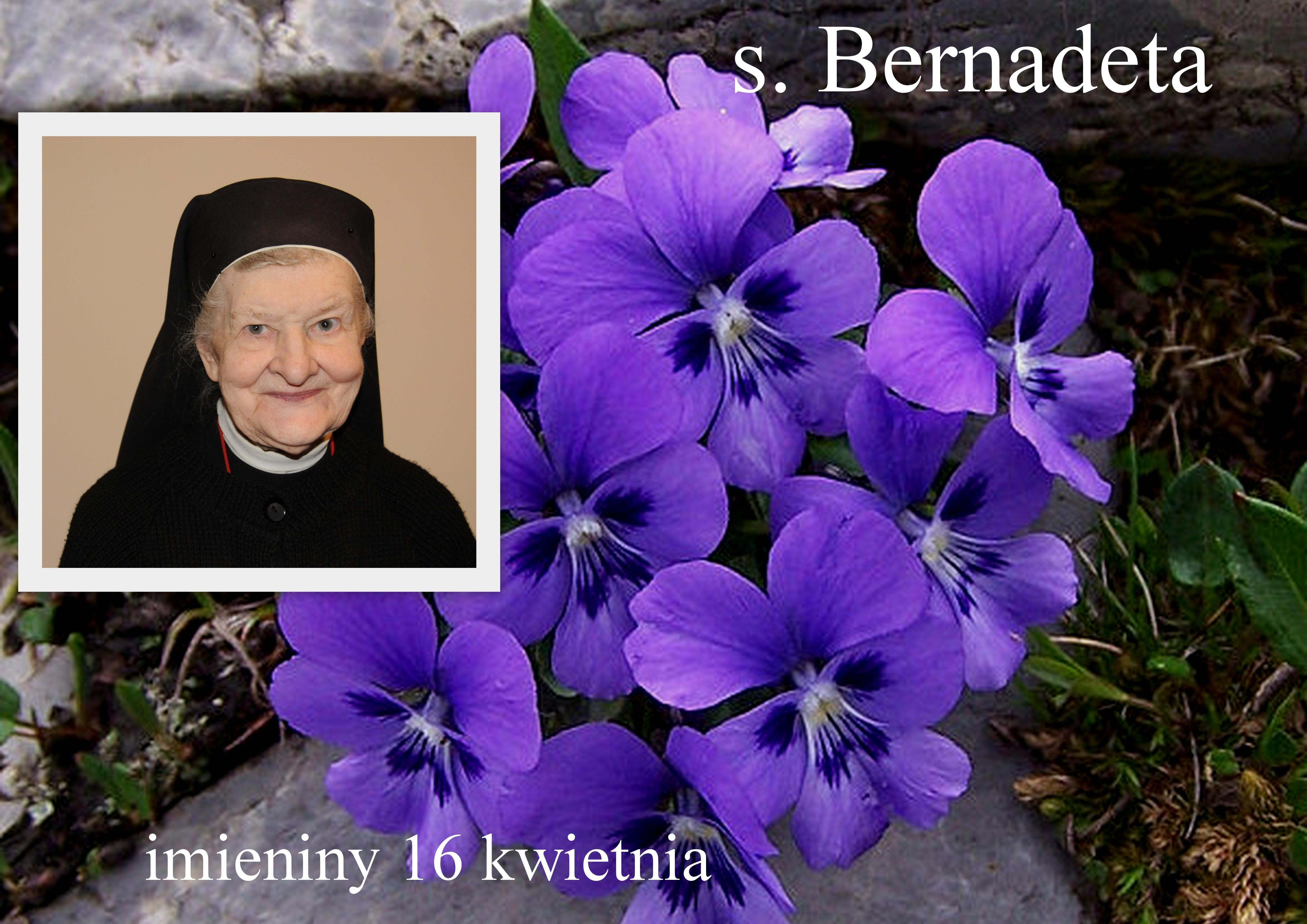 s. Bernadeta