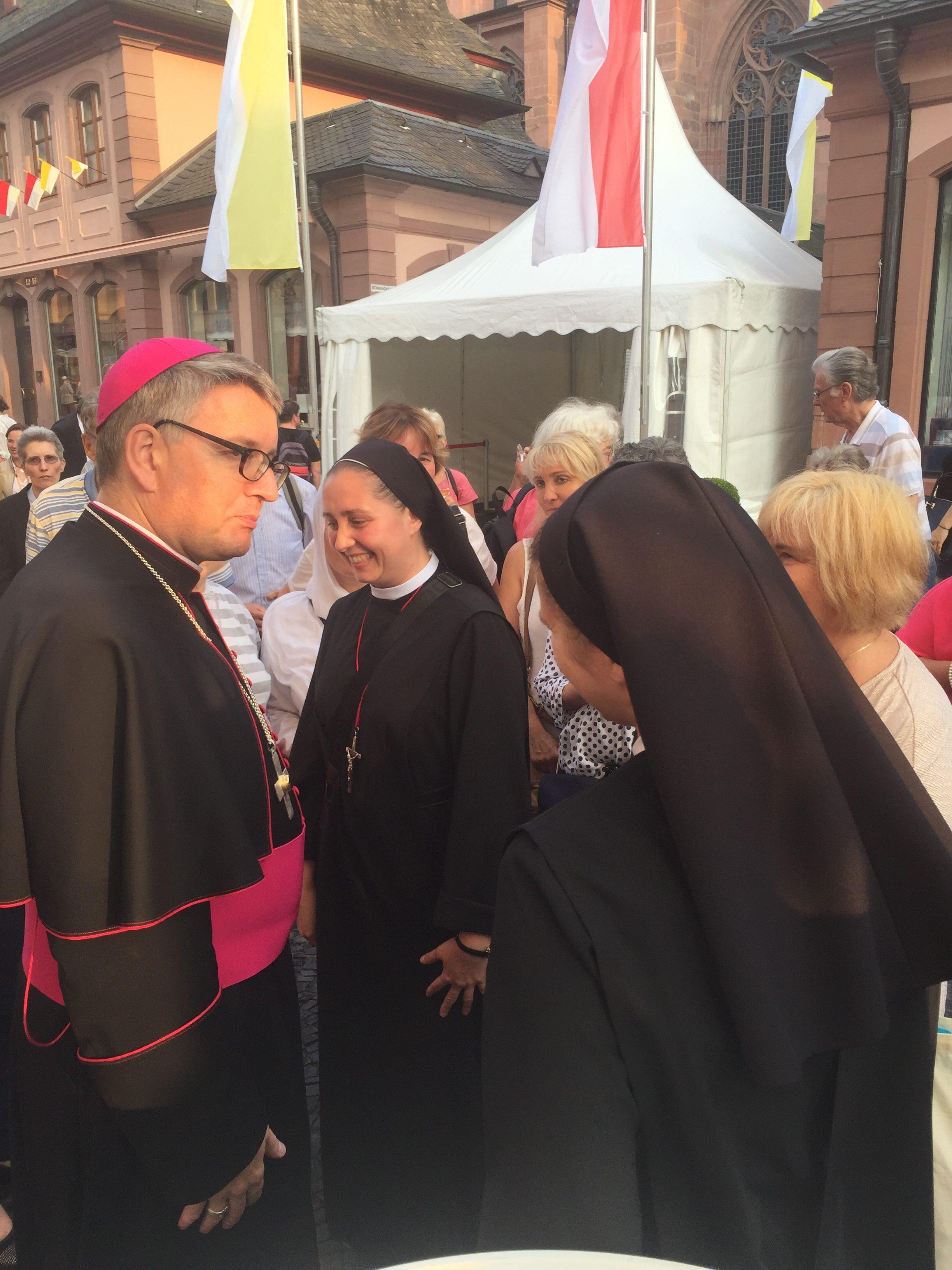 Święcenia biskupie ks. Bp Peter Kohlgraf w Mainz